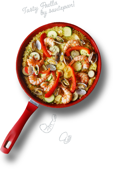 Tasty Paella by sautepan!