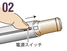02 電源スイッチ