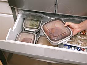 冷蔵、冷凍保存も可能